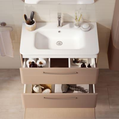 Mobile bagno Best visone L 61 cm