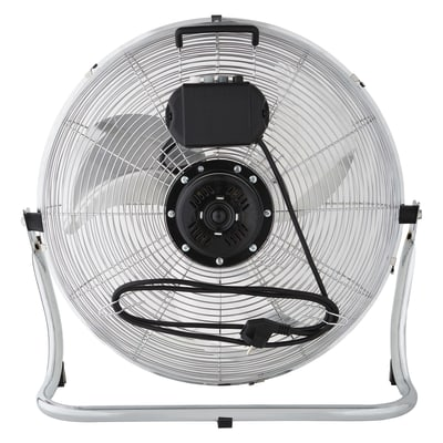 Ventilatore da pavimento Equation Jervis3 cromo
