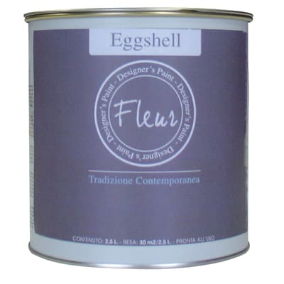 Smalto manounica Fleur Eggshell all'acqua lavender blue satinato 0.75 L