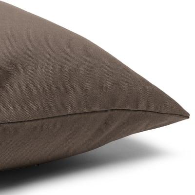Fodera per cuscino marrone 30 x 50 cm
