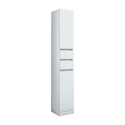 Colonna Elise bianco 2 ante, 2 cassetti L 30 x H 190 x P 33,5 cm