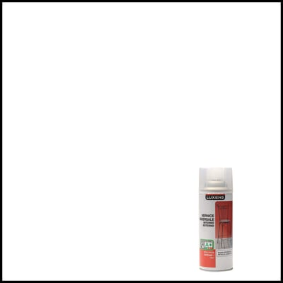 Smalto spray Finitura Luxens trasparente brillante 400 ml