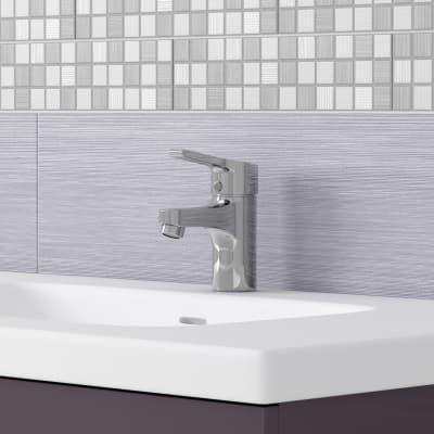 Mobile bagno Elea grigio antracite L 91 cm