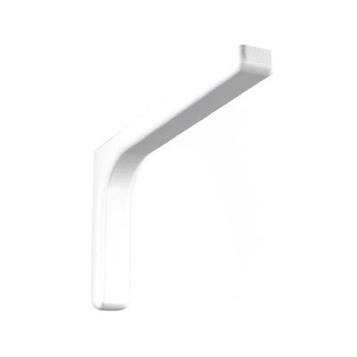 Reggimensola Leonardo bianco 8 x 12 cm