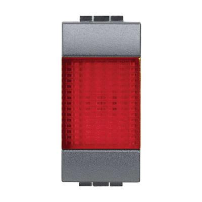 Portalampada diffusore Illuminabile BTicino Livinglight antracite