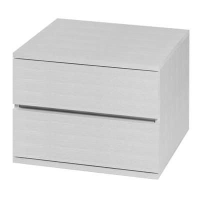 Cassettiera Logo bianco L 55 x P 50 x H 42,8 cm