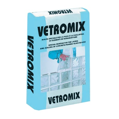Malta per vetrocemento Vetromix 10 kg