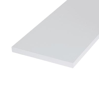 Pannello melaminico bianco 18 x 300 x 600 mm