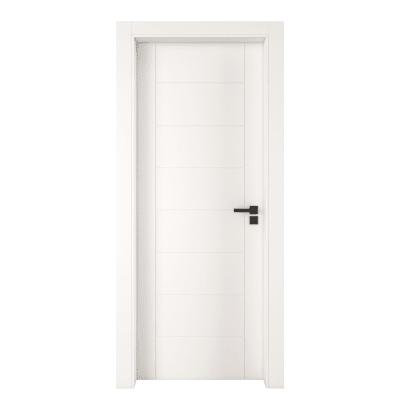 Porta da interno battente Chamberì bianco 70 x H 210 cm sx