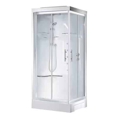 Cabina idromassaggio cayenne 80 x 80 cm prezzi e offerte for Offerte cabine doccia leroy merlin