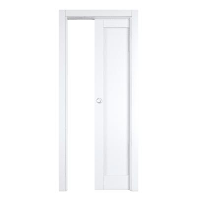 Porta da interno scorrevole Atria bianco 80 x H 210 cm reversibile