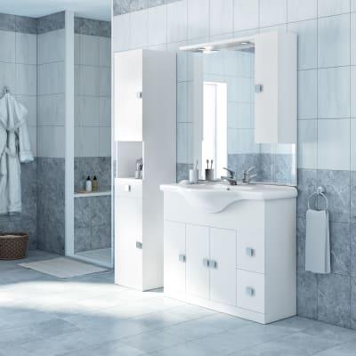 mobile bagno super bianco l 105 cm prezzi e offerte online
