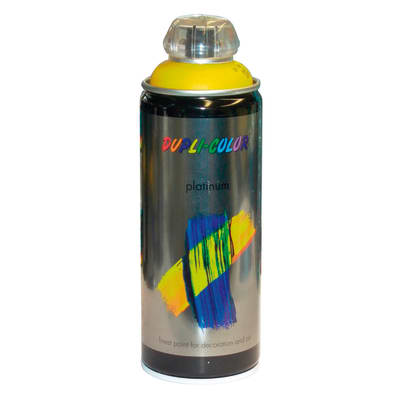 Smalto spray Platinum giallo traffico RAL 1023 Lucido 400 ml