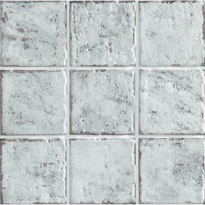 Piastrella Mistral 10 x 10 cm bianco