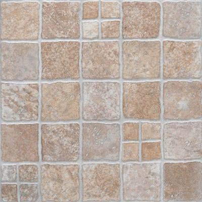 Piastrella selciato 31 x 31 cm beige prezzi e offerte for Finte piastrelle