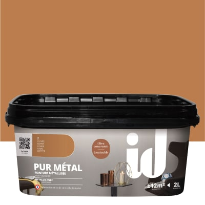 Pittura ad effetto decorativo Pur Metal Rame 2 L