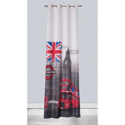 Tenda Metropolitan London multicolor 140 x 280 cm