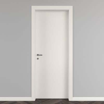 Porta da interno battente Strauss 90 x H 200 cm reversibile