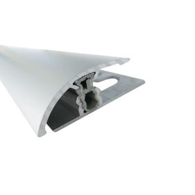 Soglia per dislivello argento L 90 cm