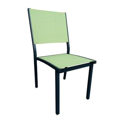 Sedia impilabile verde