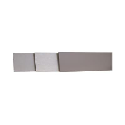 Alzatina su misura Rovere laminato medio H 10 cm