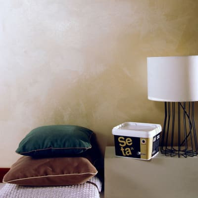 Pittura ad effetto decorativo Seta Bianco Avorio 6 2 L