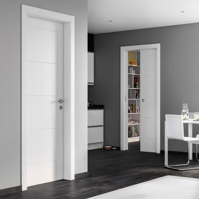 Porta da interno scorrevole Ribera 70 x H 210 cm reversibile