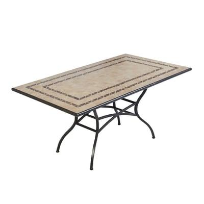 Tavolo New Gijon,  162 x 92 cm nero