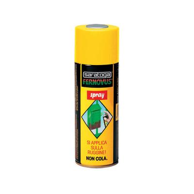 Smalto per ferro antiruggine spray Saratoga Fernovus nero antichizzato 0,4 L
