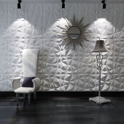 Rivestimento decorativo honey bianco prezzi e offerte for Pannelli 3d leroy merlin
