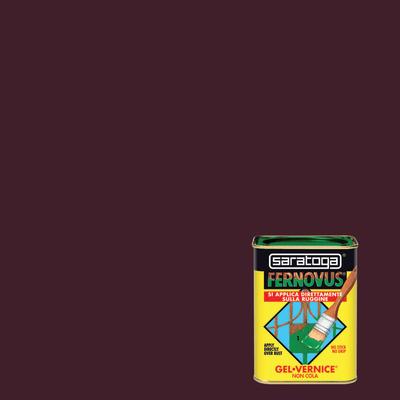 Smalto per ferro antiruggine Saratoga Fernovus marrone brillante 0,75 L