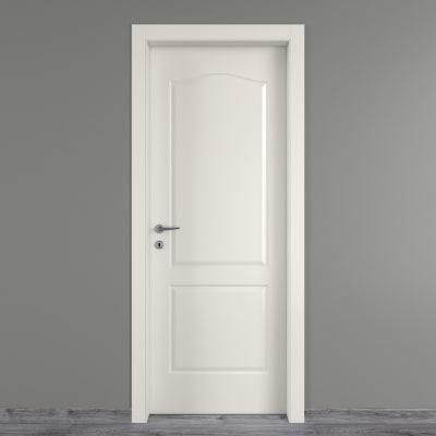 Porta da interno battente Ipanema bianco 80 x H 210 cm dx