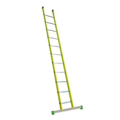 Scala ad appoggio alluminio Facal 13 gradini, per lavori fino a 5 m