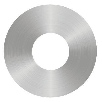 Plafoniera Hole acciaio Ø 40 cm