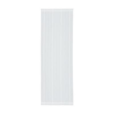 Tendina a vetro per finestra Picasso bianco 58 x 170 cm