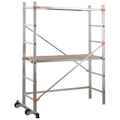 Trabattello Dexter FA100DXI  in alluminio, per lavori fino a 2,8 m