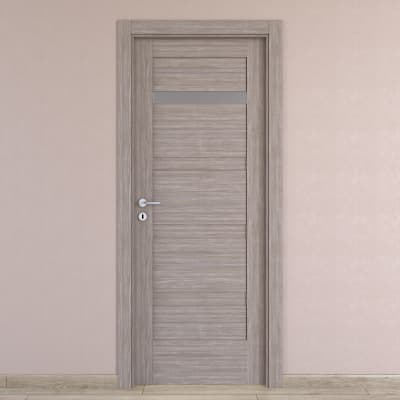 Porta da interno battente Capena 2 sabbia 70 x H 210 cm dx