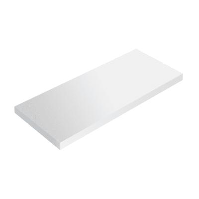 Mensola Spaceo bianco L 96 x P 20, sp 1,8 cm