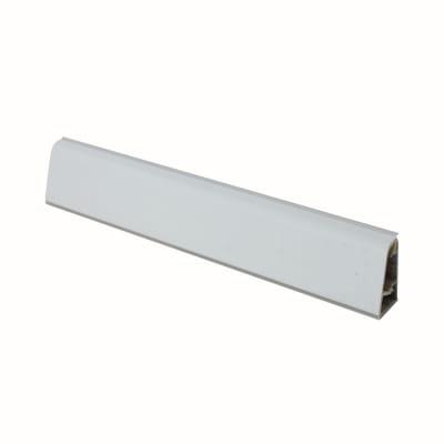 Alzatina su misura Arenite alluminio grigio H 3 cm