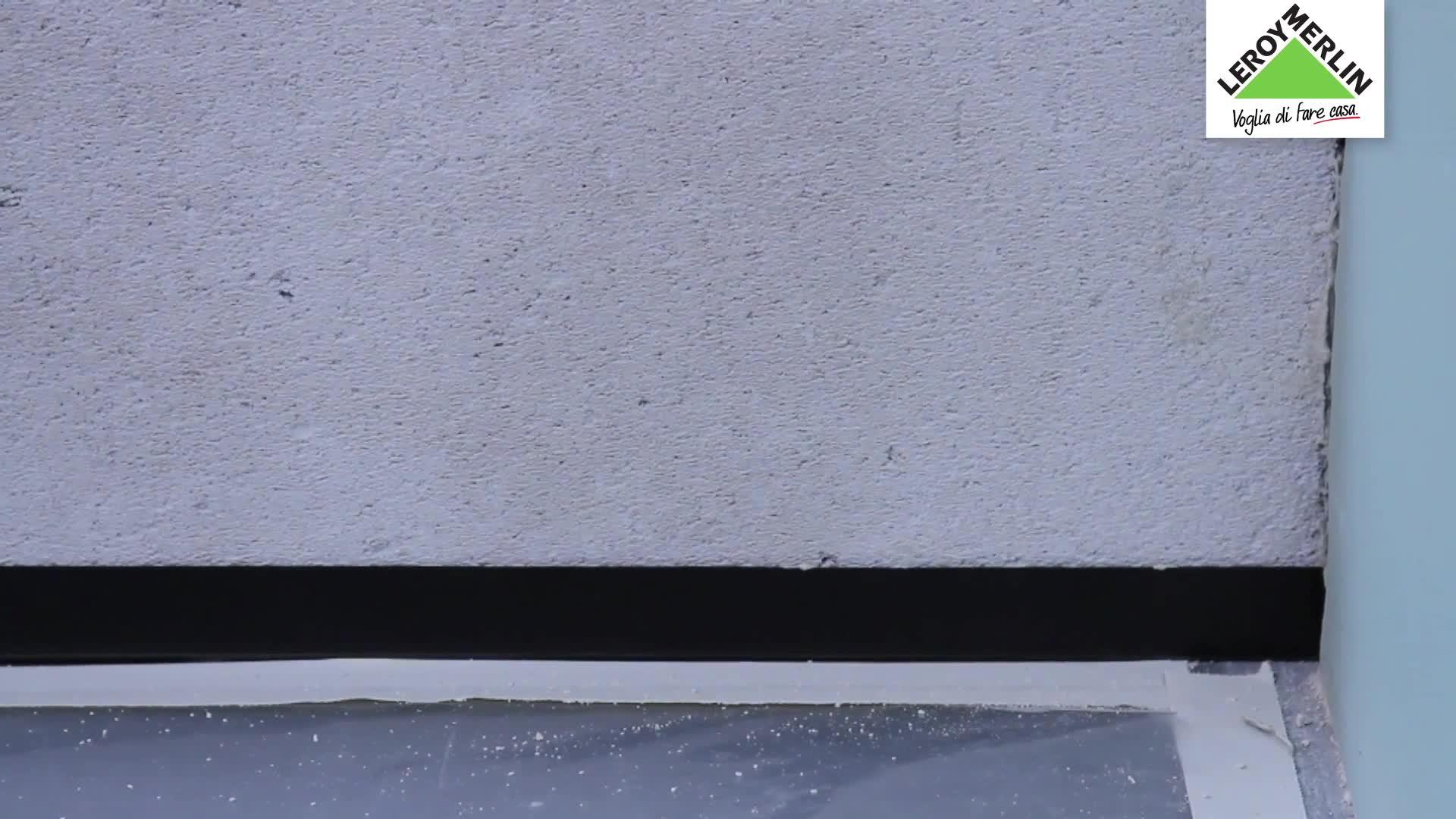 Pavimento effetto legno mix - Costruire una parete divisoria ...